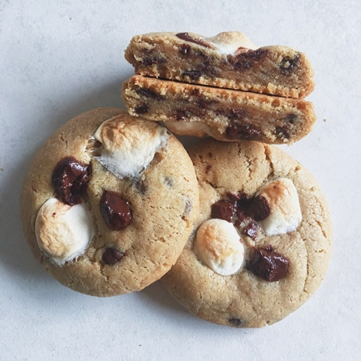chunky-s'mores-cookies
